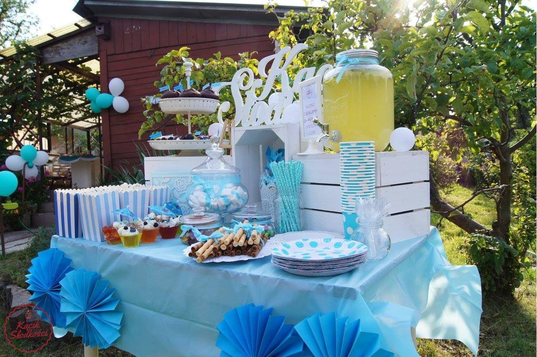 Słodki stół na urodziny dla dziecka Kielce